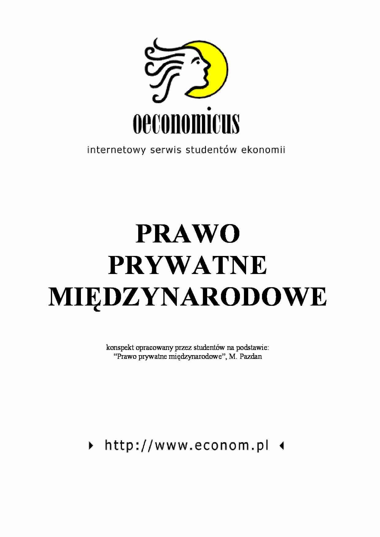 prawo prywatne międzynarodowe podręcznik
