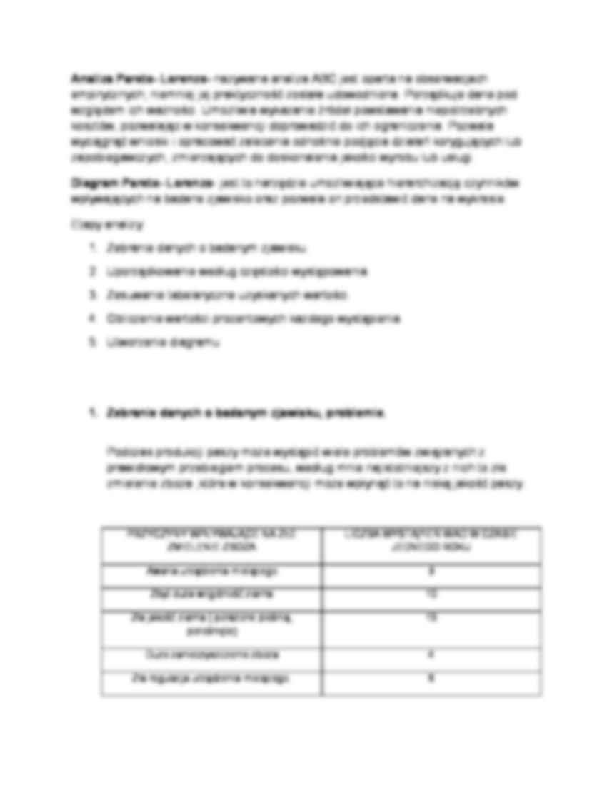 Analiza pareto lorenza wykres notatek analiza pareto lorenza wykres strona 2 ccuart Images