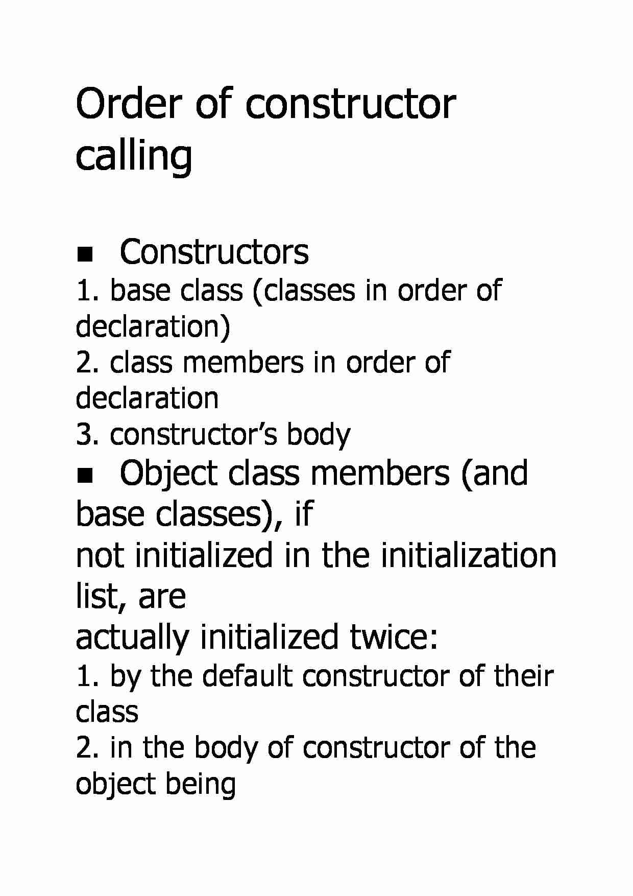 Order of constructor calling - strona 1