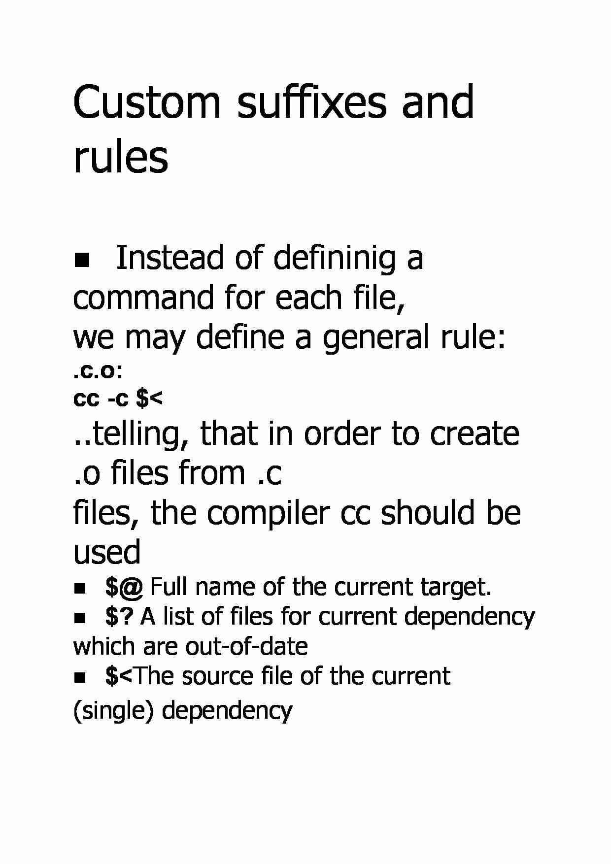 Custom suffixes and rules - strona 1