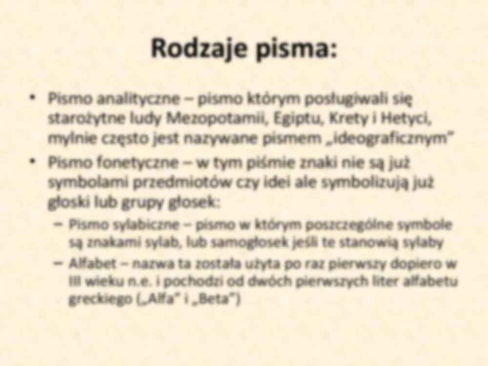 Historia I Rozwoj Alfabetu Notatek Pl