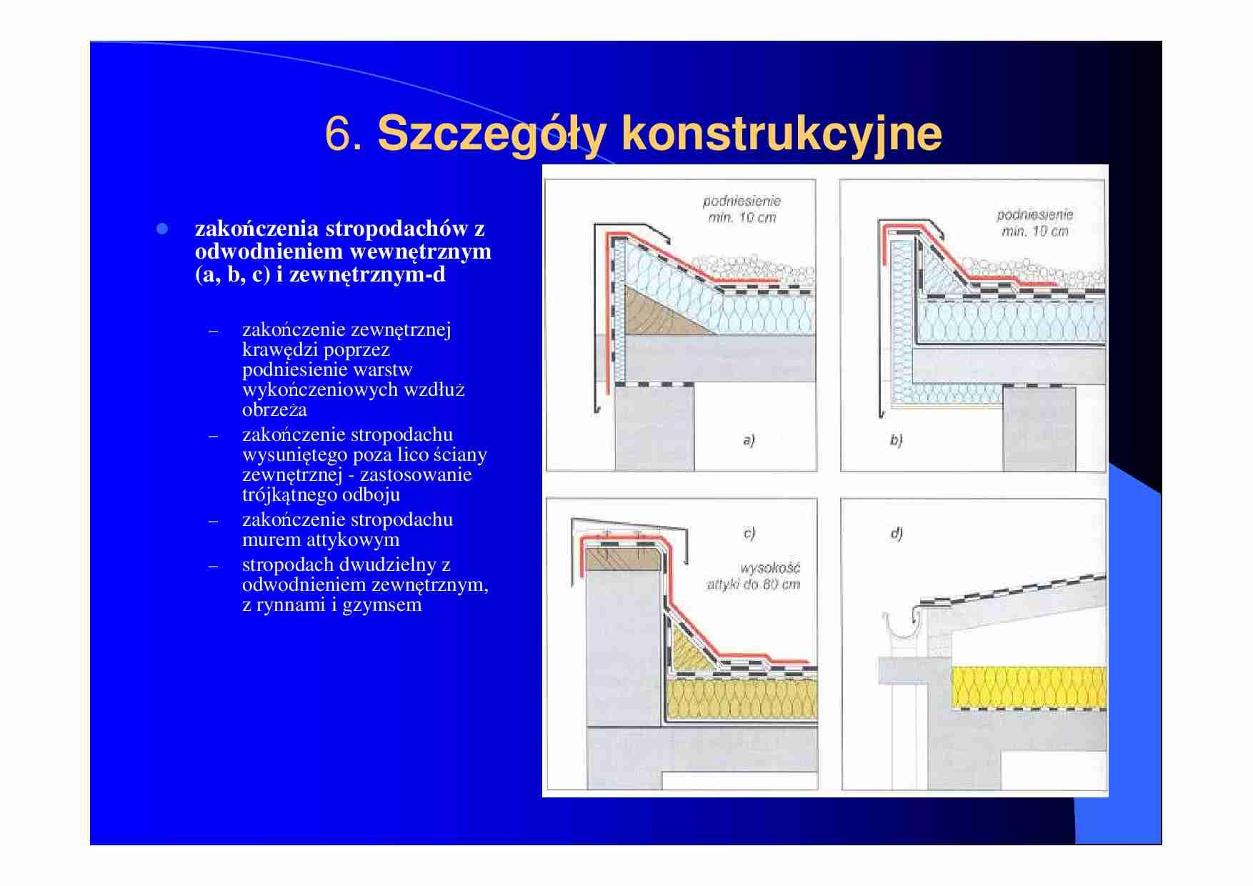 Szczegoly Konstrukcyjne Stropodachy Notatek Pl