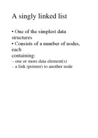 a-singly-linked-list