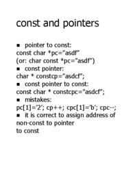 const-and-pointers