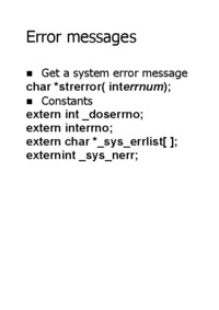error-messages
